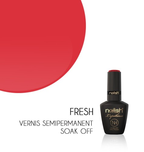 Vernis Semi Permanent UV / LED Fresh L'apothéose Nailish