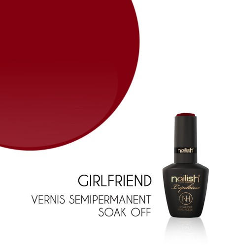Vernis Semi Permanent UV / LED Girlfriend L'apothéose Nailish