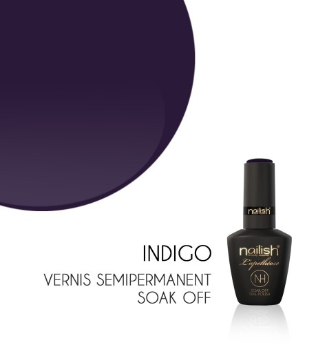 Vernis Semi Permanent UV / LED Indigo L'apothéose Nailish