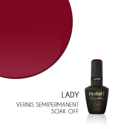 Vernis Semi Permanent UV / LED Lady L'apothéose Nailish