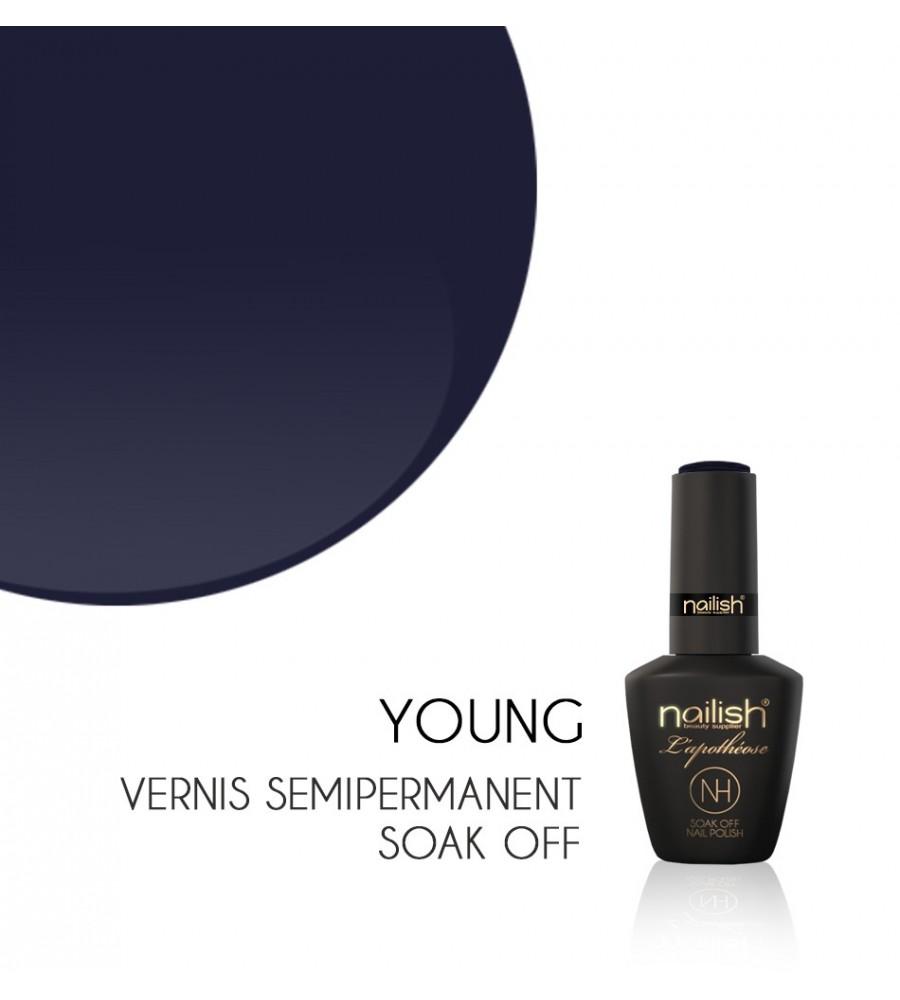 Vernis Semi Permanent UV / LED Young L'apothéose Nailish