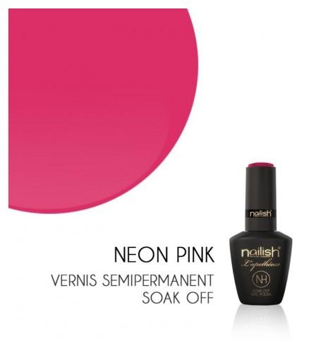 Vernis Semi Permanent UV/LED Néon Pink L'apothéose Nailish