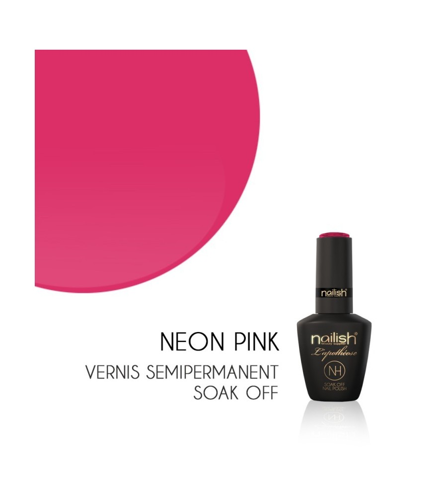 Vernis Semi Permanent UV/LED Néon Pink L'apothéose Nailish