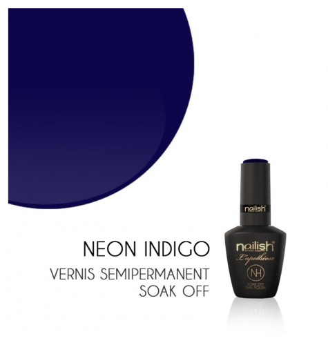 Vernis Semi Permanent UV/LED Néon Indigo L'apothéose Nailish