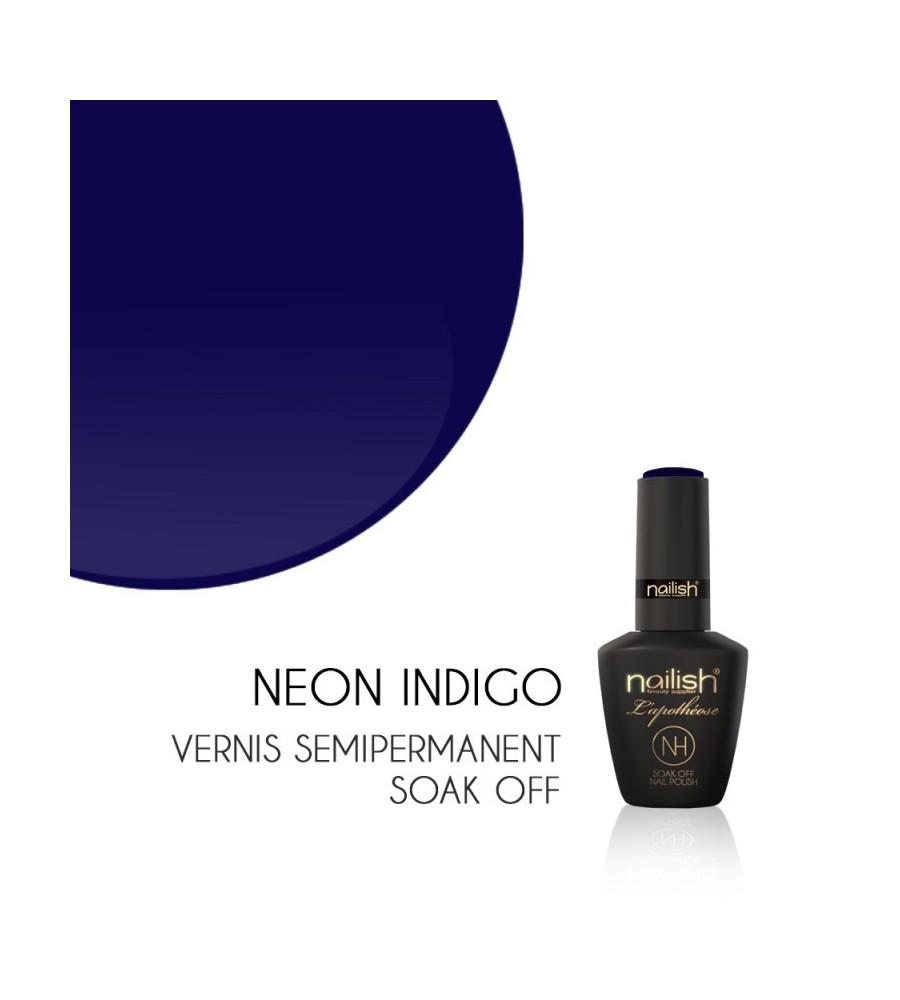 Vernis Semi Permanent UV/LED Néon Indigo L'apothéose Nailish