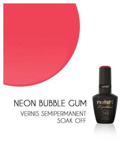 Vernis Semi Permanent UV/LED Néon Bubble Gum L'apothéose Nailish
