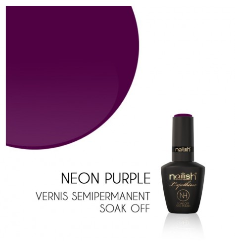 Vernis Semi Permanent UV/LED Néon Purple L'apothéose Nailish