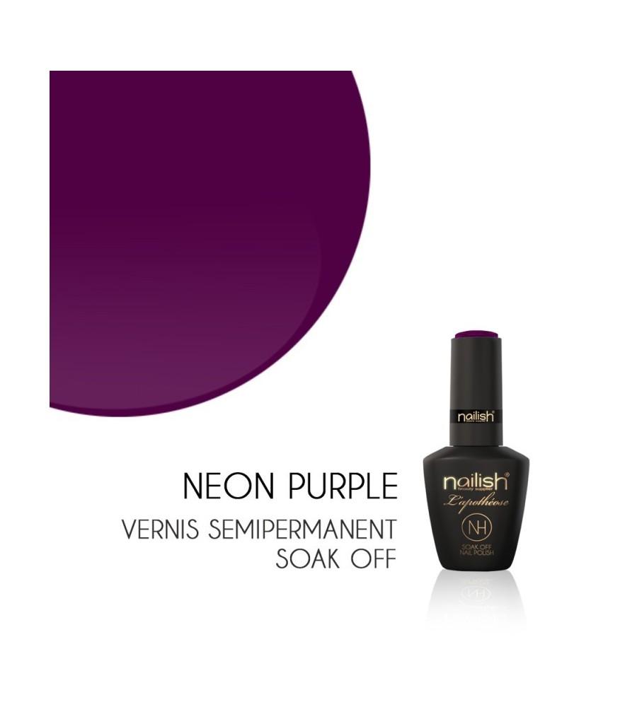 Vernis Semi Permanent UV/LED Néon Purple L'apothéose Nailish