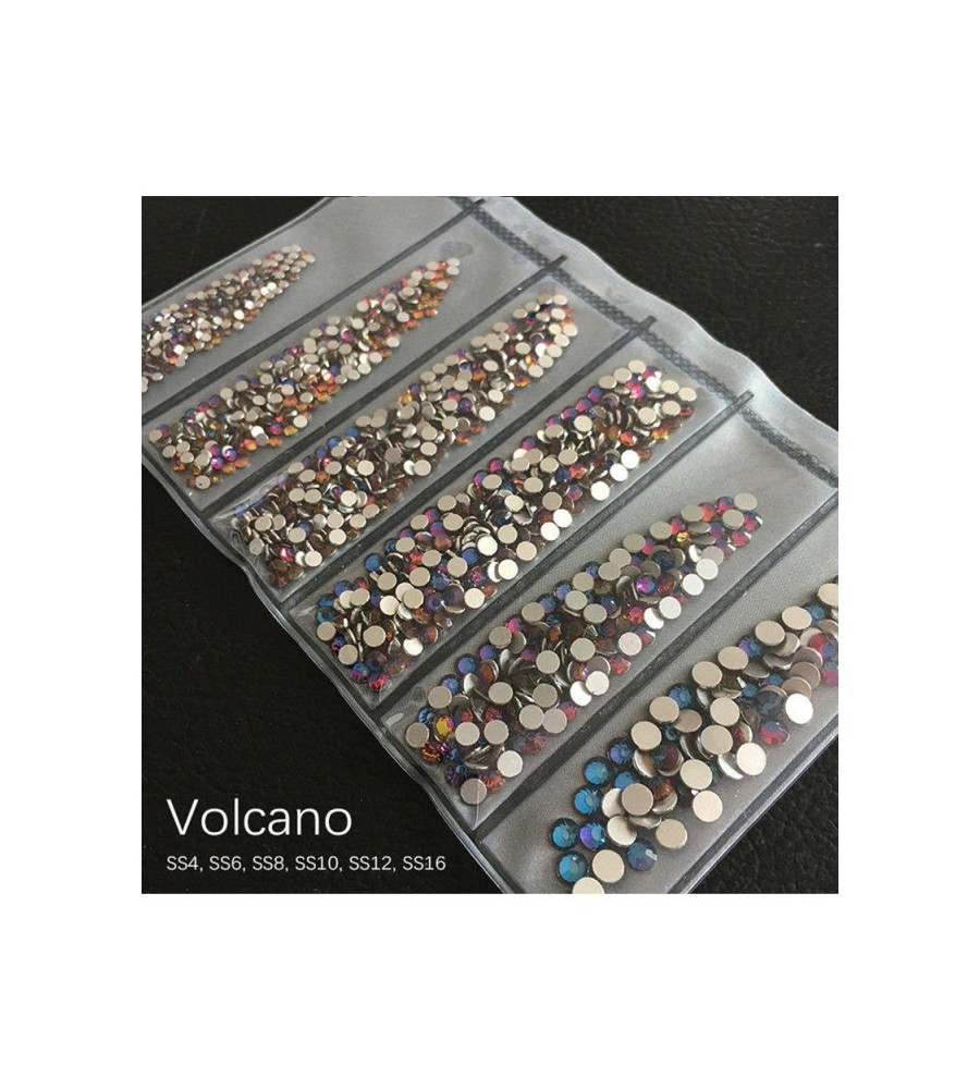 STRASS MIX DIFFERENTS TAILLES VOLCANO 1300 PCS