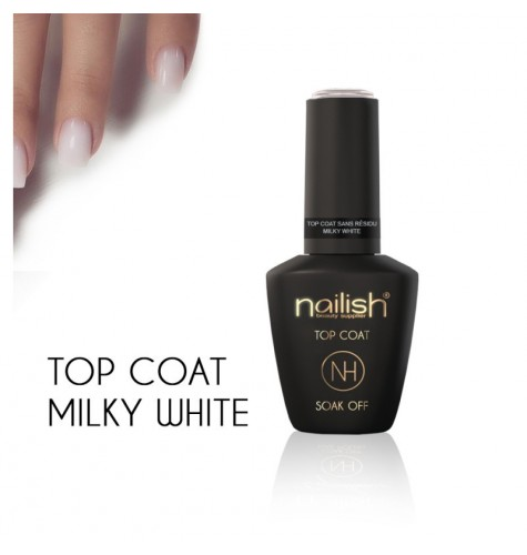 Top Coat Milky White