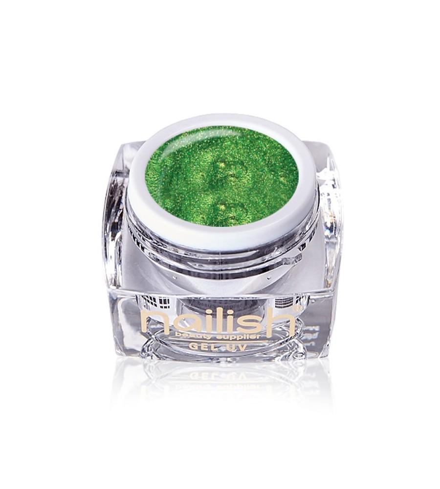 Gel UV/LED Glitter Emerald