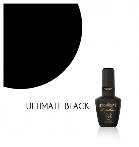 Vernis Semi Permanent UV / LED Ultimate Black L'Apothéose Nailish