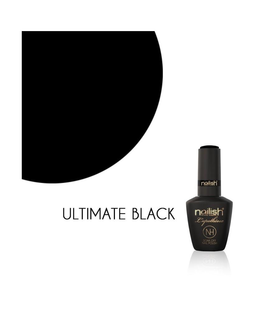Vernis Semi Permanent UV / LED Ultimate Black L'Apothéose Nailish