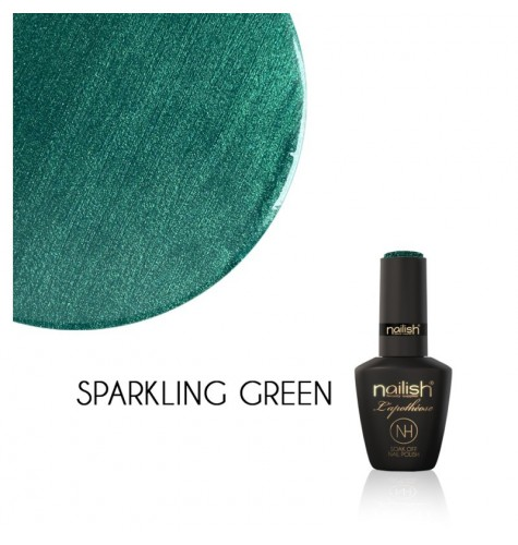 Vernis Semi Permanent UV / LED Sparkling Green L'Apothéose Nailish