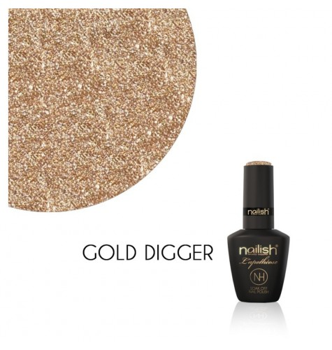 Vernis Semi Permanent UV / LED Gold Digger L'Apothéose Nailish