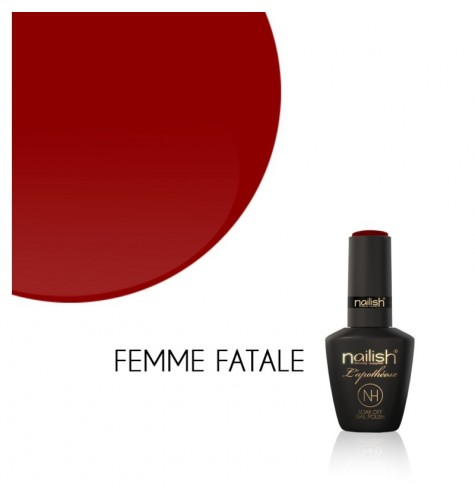 Vernis Semi Permanent UV / LED Femme Fatale L'Apothéose Nailish