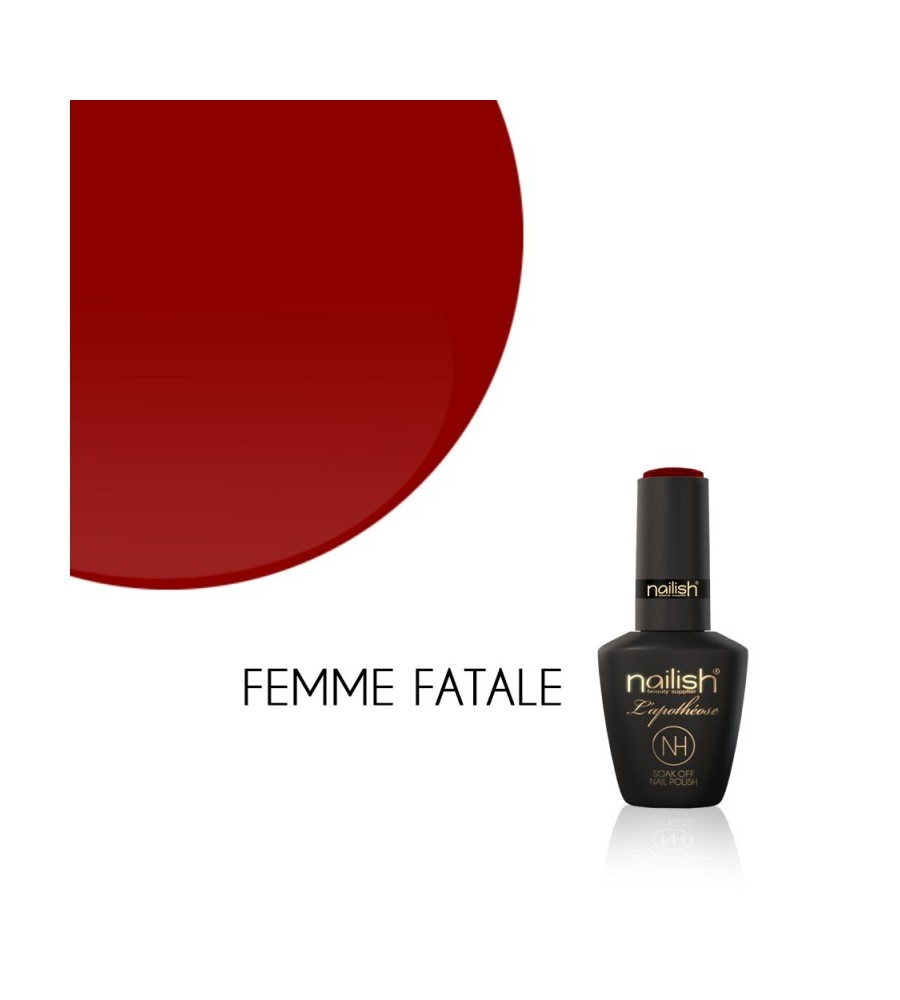 Vernis Semi Permanent UV / LED Femme Fatale L'Apothéose Nailish