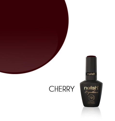 Vernis Semi Permanent UV / LED Cherry L'Apothéose Nailish