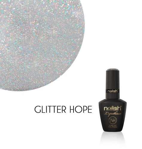 Vernis Semi Permanent UV / LED Glitter Hope L'Apothéose Nailish