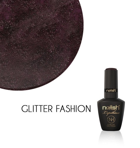 Vernis Semi Permanent UV / LED Glitter Fashion L'Apothéose Nailish