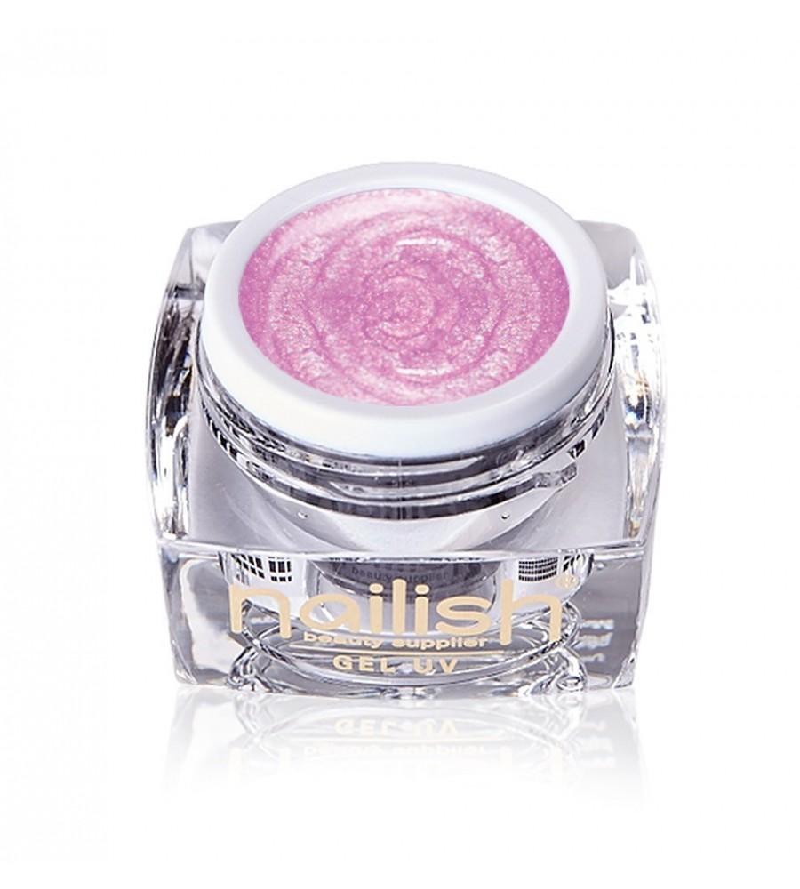 Gel UV/LED Perlé Metallic Light Pink Nailish