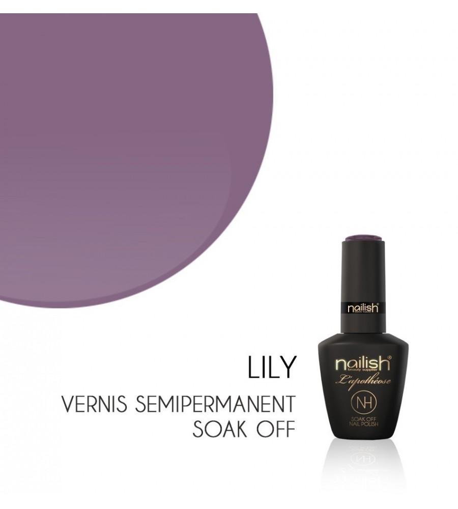 Vernis Semi Permanent UV / LED Lily L'apothéose Nailish