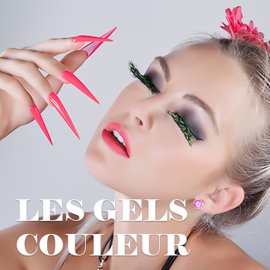 Gel uv led couleur ongles nail art
